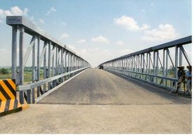 Cina Compact Modular Bridge Baja Galvanized Dengan Pracetak Baja pemasok