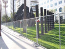 China Ease of installation Chain Link Fencing Metal Chain link Fencing Do not obscure sunlight factory