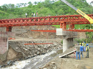China Bailey Steel Timber Deck Bridges High Stiffness With Heavy loading  factory