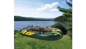 295×137×43mm Ferry Barge Rigid Inflatable Boats Manual For Camping