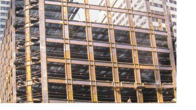 Portable Steel Building Structures for High - Raise Building, Airports, Workshops