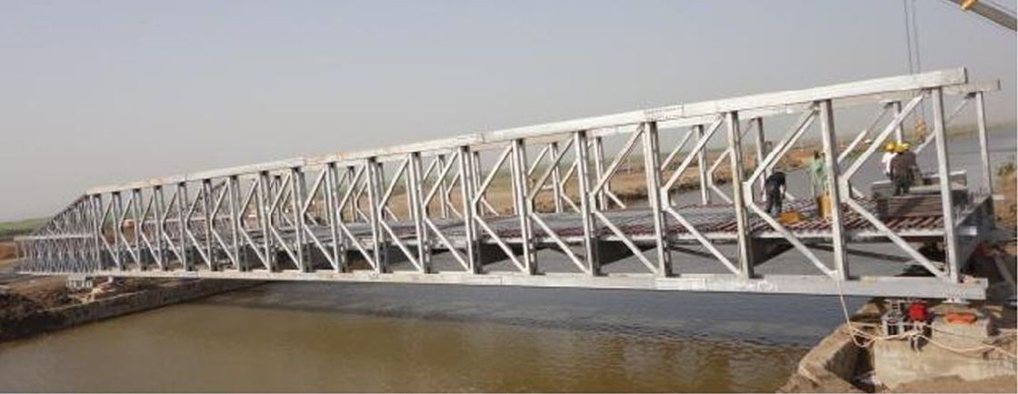 Custom Permanent Steel Structure Bridge Steel Deck With