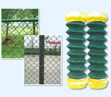 China Chain Link Fencing Metal Open weave Ease of installation Chain link Fencing factory