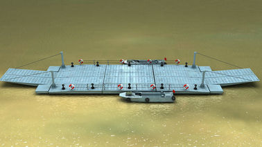 Self - Propelled Ferry Barge Heavy Loading Capacity for Water Shipment