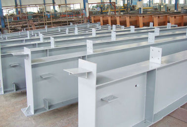 China Pre-fabricated, Anti - Seismic Metal / Steel Building Structures for Railway Stations factory