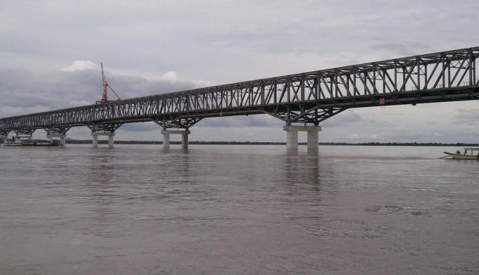 Steel Truss Structure Bridge